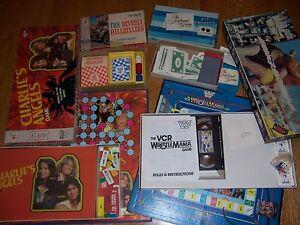 4 old tv board games vintage charlies angels the beverly hillbillies newlywed. Black Bedroom Furniture Sets. Home Design Ideas