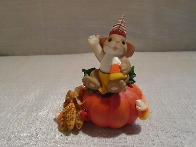 Charming Tails How's Your Holiday 4027680 Fall Mouse Halloween Pumpkin