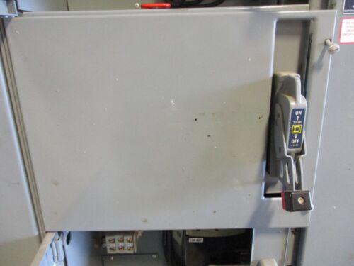 """Square D Model 4, 30 Amp FAL Breaker, 480 Volt, 12"""", MCC Feeder Bucket"""