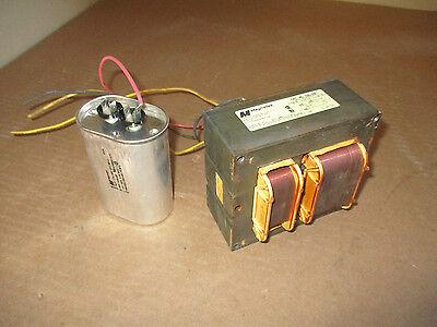 Magnetek 1130-21r Metal Halide Ballast W Capacitor 400w M59 Or H33 208v Used