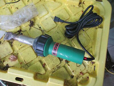 Leister Triac S Hot Air Blower Heat Gun Voltage 120v 1600w 14a