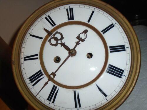 Antique-2 Weight-Vienna Regulator Clock Movement-Ca.1890-To Restore-#E146