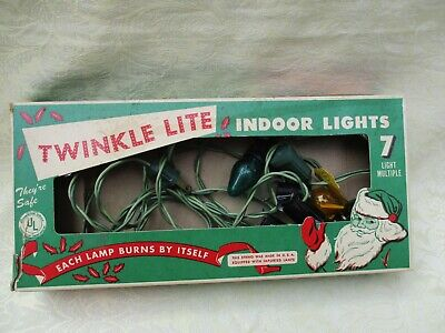 Vintage Imperial Co. Boston Twinkle Lite-Indoor Christmas Light Set - Set Works! ()