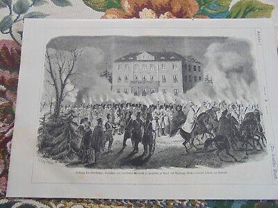 1851 Stich 5 / Fackelzug in Frankfurt