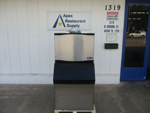 New Atosa 460 Lb Ice Maker With 395 Storage Bin, Yr450-ap-161 And Cyr400p