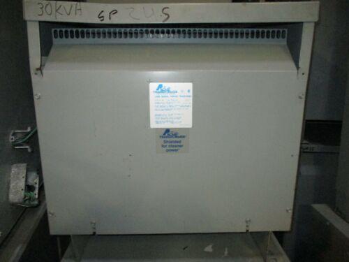 Acme T-2A-79552-35, 30 KVA, 380 x 240/127 Volt, 3 Phase, Transformer (NS)- T1832