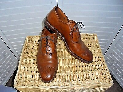 395 Allen Edmonds Cornwallis Oxford Balmoral  Brown Size 11 D