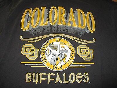 Vintage SPA Label - COLORADO BUFFALOES Since 1876 (XL) T-Shirt