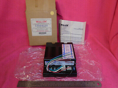 New Whelen Universal 4 Outlet Strobe Power Supply First Responder Emergency Law