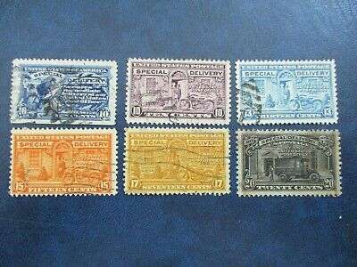 Old Time Special Delivery Stamps