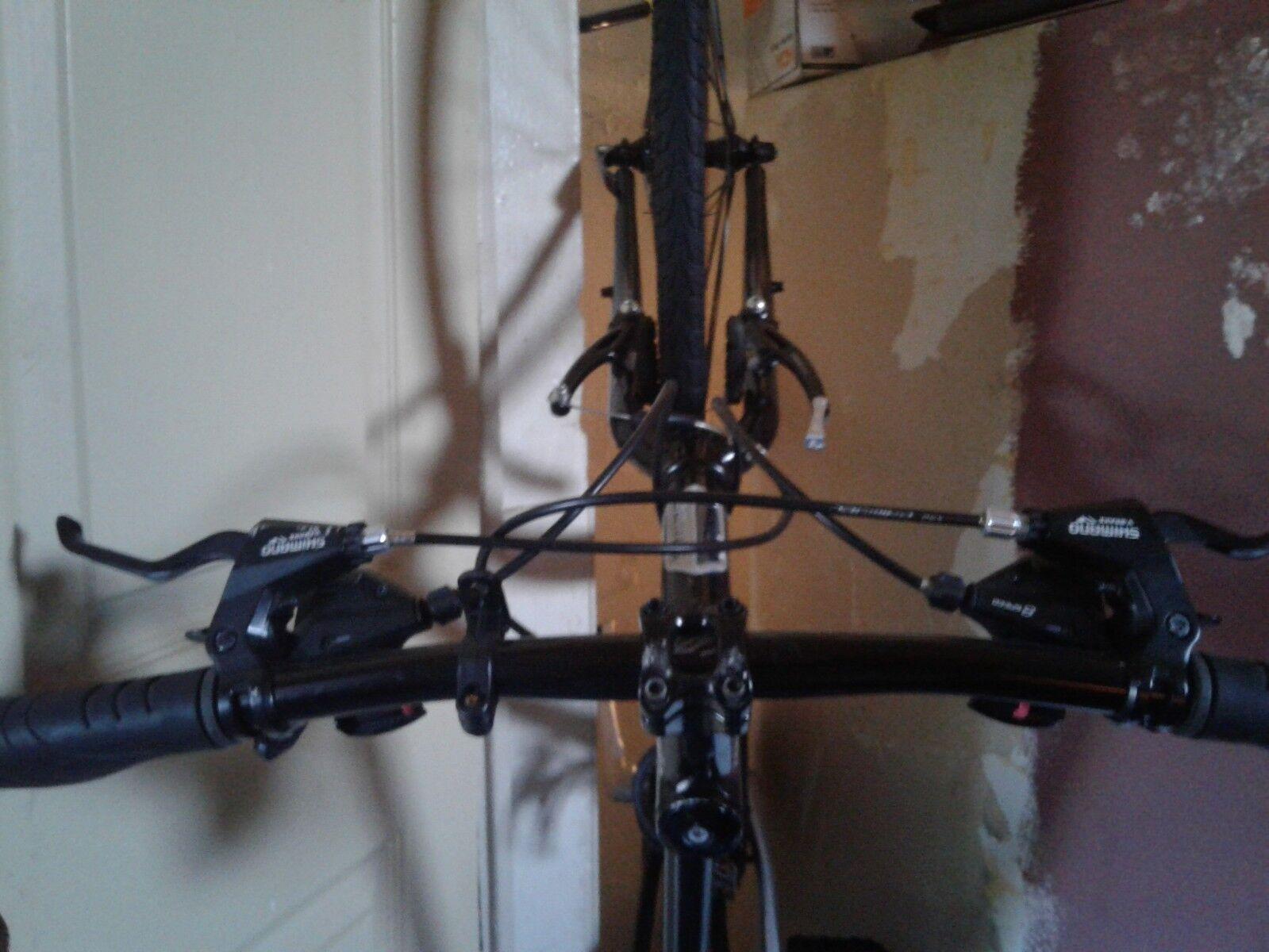 """Jamis men/boys Silver black Coda Comp 17"""" Bike"""