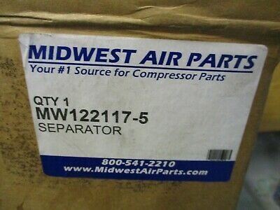 New Midwest Air Parts Mw122117-5 Quincy Separator