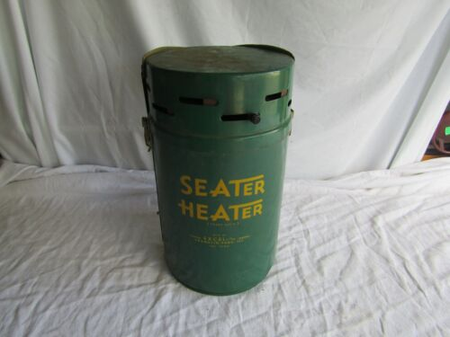 Vintage Seater Heater Ice-Fishing Camping HUNTING OUTDOOR SEAT Stool