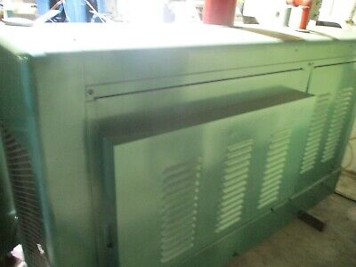 Onan Model 85kr Natural Gas Generator W 150 Hours 277 460 3 Phase 115 Amps