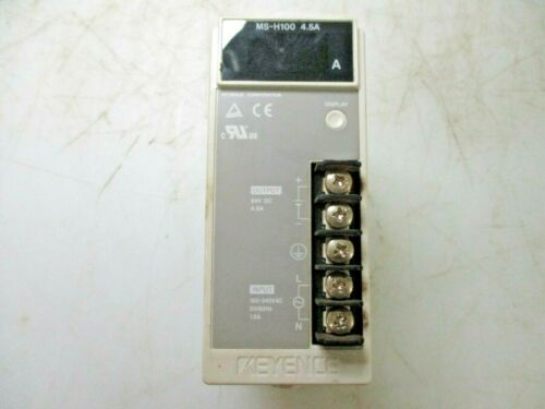 KEYENCE SWITCHING POWER SUPPLY MS-H100 4.5A