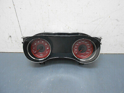 2015 15 16 17 Dodge Charger Hellcat 200mph Red Gauge Cluster #5870