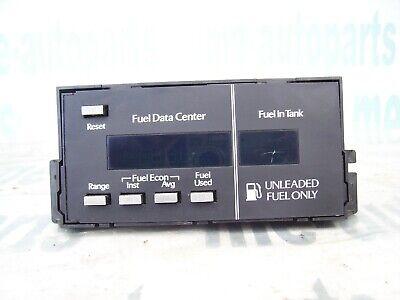 1985-1989 CADILLAC DEVILLE FLEETWOOD FWD FUEL DATA CENTER DASH MODULE COMPUTER