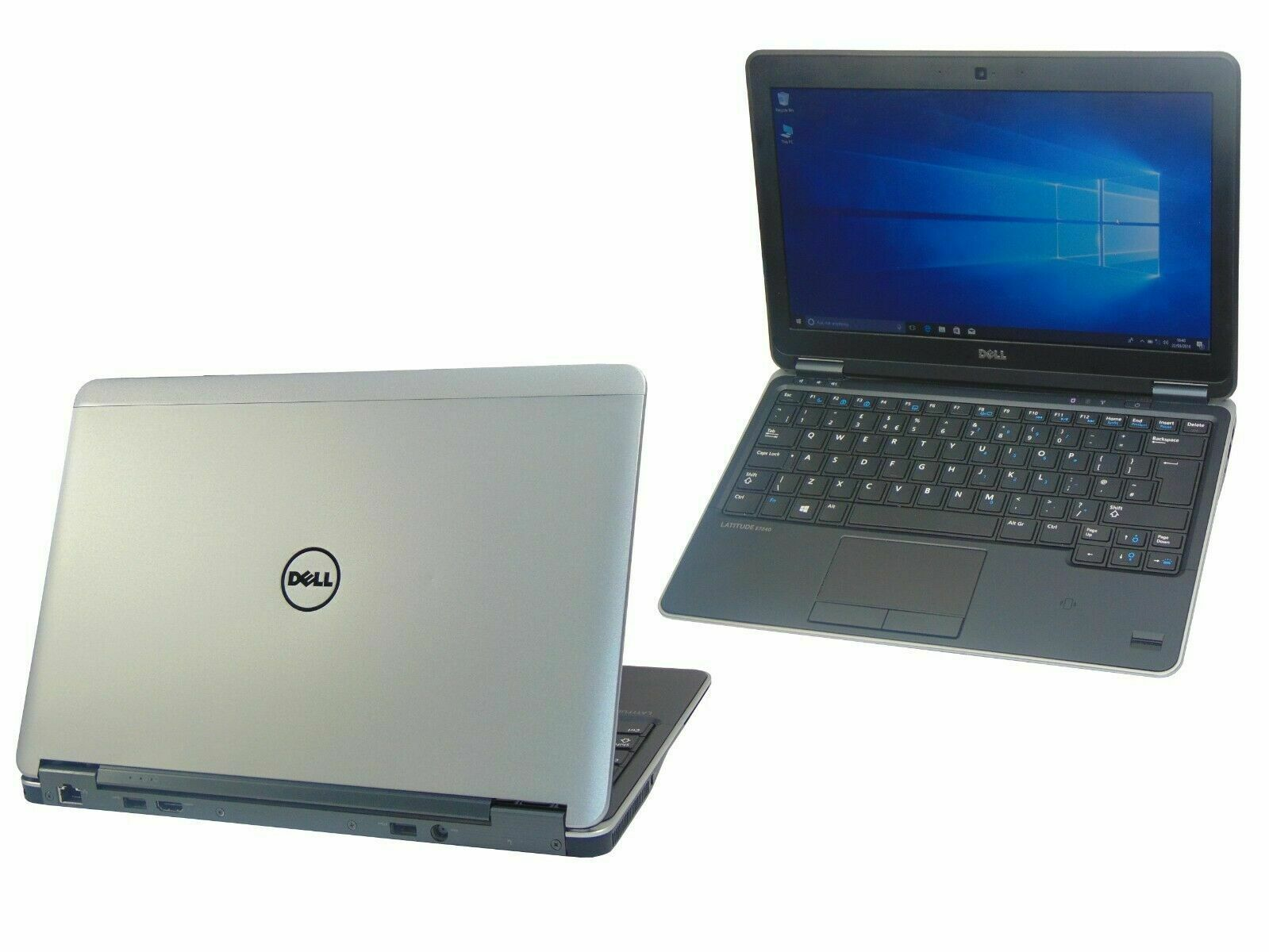 Laptop Windows - FAST Dell Laptop Windows 10 Latitude E7240 Core i3-4030U 16GB 256GB SSD Webcam