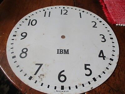 Vintage IBM large face of a clock. for sale  Deansboro