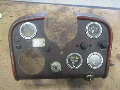 International Farmall 460 Utility Dash Panel Antique Tractor