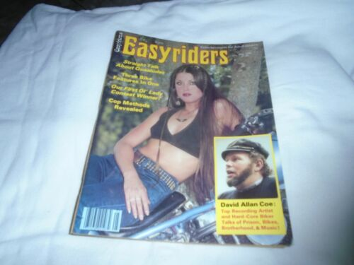 EASYRIDERS MAGAZINE- MAY 1978 -DAVID MANN CENTERFOLD & ALL PAGES INTACT