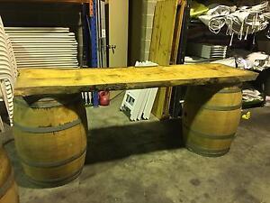 Wine barrel and hay bale hire across Melbourne Victoria Melbourne CBD Melbourne City Preview
