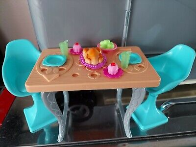 Barbie Dream House table chairs accessories