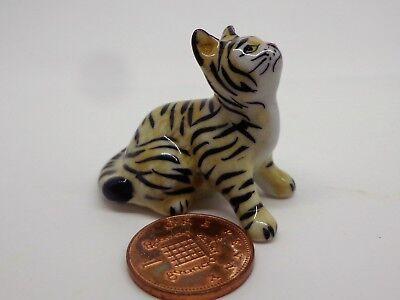 Tiger S , Ornament, Garden Ornament  Dolls House Miniature Animal