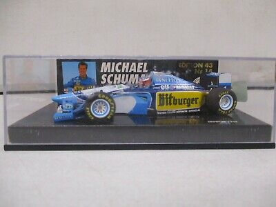 Paul's Model Art 1995 Michael Schumacher Benetton Renault 1/43
