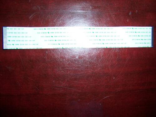 SHS FFC ribbon cable 27-pin 20cm x 28mm 1mm pitch E188165 AWM 20798 80C 60V VW-1