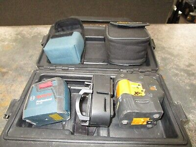 Cstberger Xp5s Self Leveling 5 Beam Laser Levelwbosch Gll 30 Self-leveling