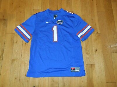 - Nike FLORIDA GATORS #1 NCAA College Team Replica Football Jersey YOUTH Lg Harvin