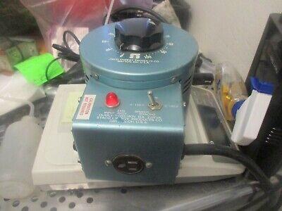 Staco Energy Model 3pn1510 Variable Transformer