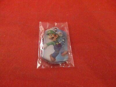 Luigi #9 Dogtag Official Super Mario Nintendo Dog Tag Necklace Chain NEW!