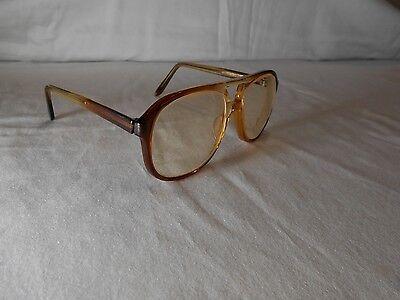 American Optical Aviator Cinnamon Fade vintage eyeglasses safety Z87 EC100A