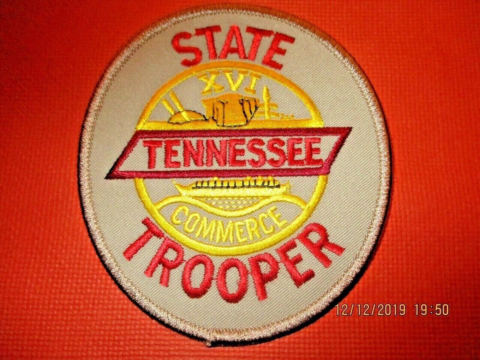 Tennessee State Trooper Police Patch,New