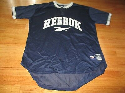 Vintage Reebok No. 35 Twilled Stitched 2 Button (XL) Baseball Jersey d7d509166