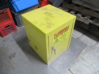Eagle Manufacturing Safety Storage Cabinet 1904 4 Gal. Capacity Used for sale  Minneapolis