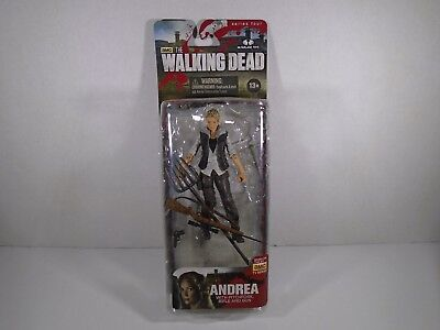 2013 MCFARLANE TOYS--THE WALKING DEAD--ANDREA FIGURE (LOOK) for sale  Shipping to India