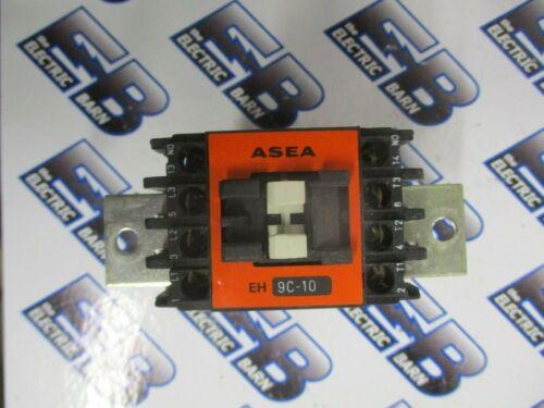 ASEA EH9C-10, 25 AMP 600 VOLT 3 POLE CONTACTOR W/ 24 VOLT COIL