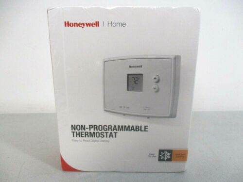 Honeywell RTH111B Digital Non-Programmable Thermostat - White =