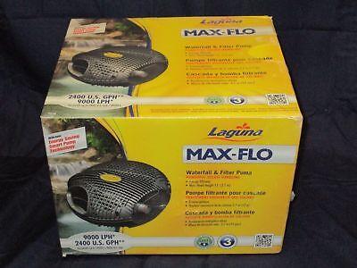 Brand NEW - Laguna Max-Flo 2400gph Waterfall & Filter Pump for ponds PT-8248