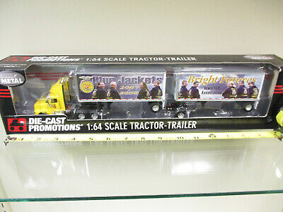 2007-2008 Iowa FFA International Semi w/ Twin Pup Trailers by DCP 1/64th Scale !