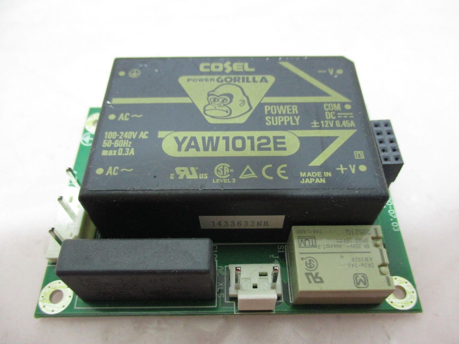 J.A. Woollam SSB-600.07.03 PCB Board W/ Cosel YAW1012E Power Supply, 420573