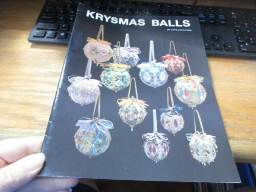 Krysmas Balls Just Krys Design Needlepoint Pattern Booklet Christmas Ornaments