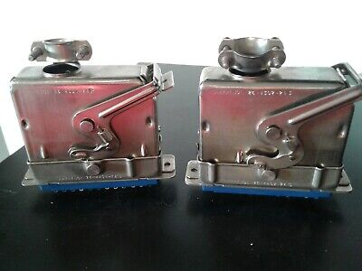 2 Amphenol 26 Series M F Blue Ribbon Connector Plugs And Housing 24 Pin