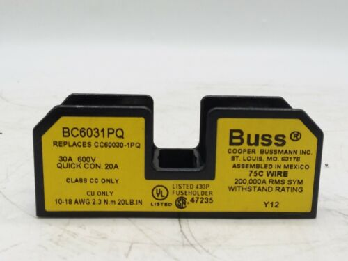 Buss BC6031PQ Fuse Holder