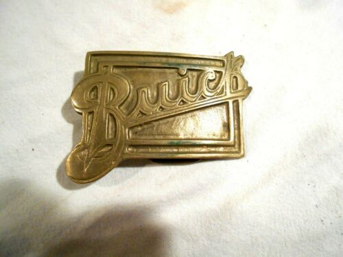 Buick Solid Brass Belt Buckle