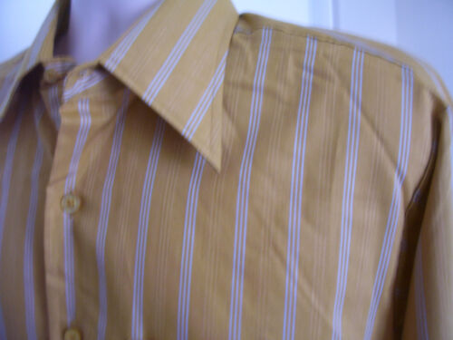 NWOT Hampshire House by Van Heusen Mens French Cuff Button up Shirt Size 16.5 34
