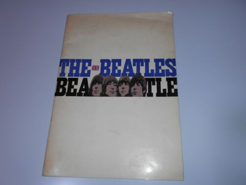 BEATLES in Japan 1966 THE BEATLES Japanese Tour An Original Program John Lennon